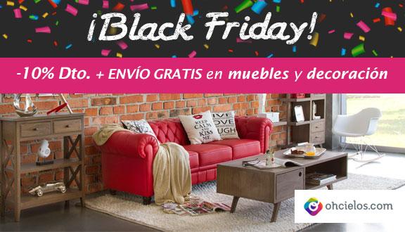 Muebles interiorismo y decoraci n blog ohcielos - Black friday muebles ...