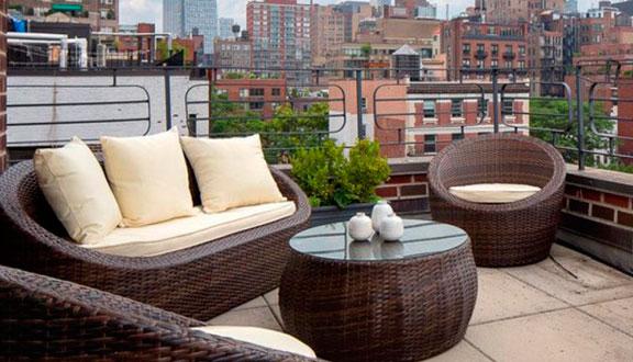Chill out ático de Julia Roberts en Nueva York