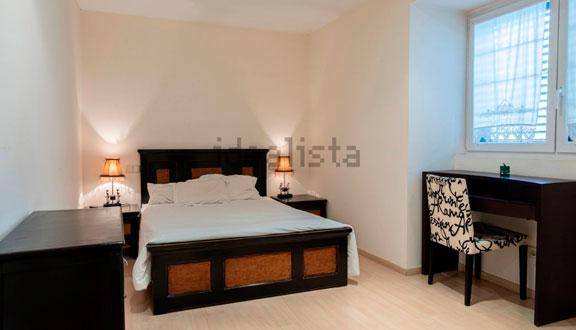 Dormitorio invitados de la casa de Paula Echevarría y David Bustamante