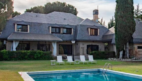 Vista principal de la casa de Paula Echevarría y David Bustamante