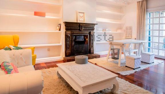 Sala de estar de la casa de Paula Echevarría y David Bustamante