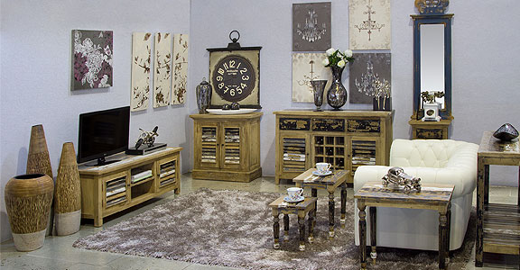 Decoraci n vintage muebles y art culos retro para el - Decoracion vintage de interiores ...