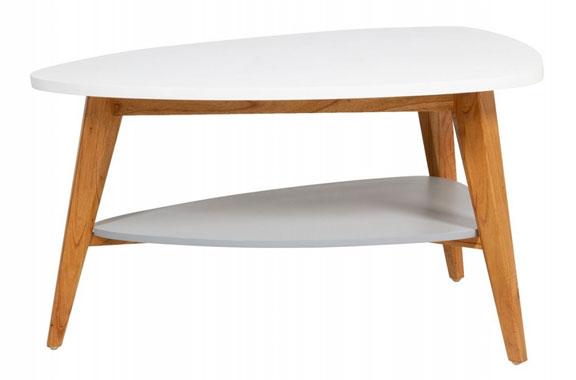 Mesa centro estilo nórdico