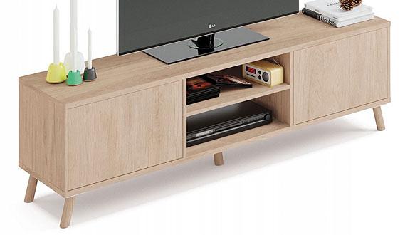 Mueble TV roble para salón