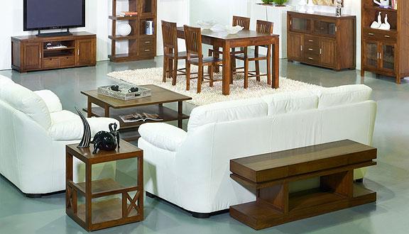 Muebles salón para aprovechar el espacio