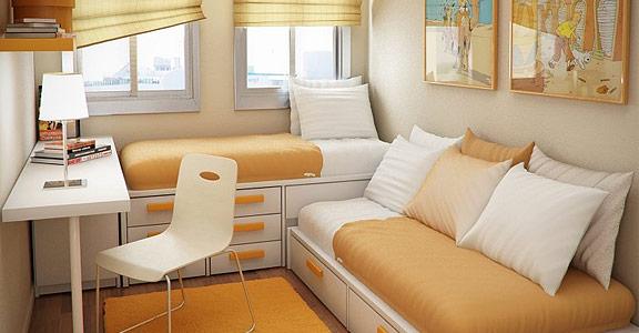 Amueblar dormitorios pequeños