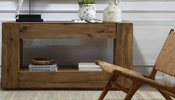 Muebles madera reciclada